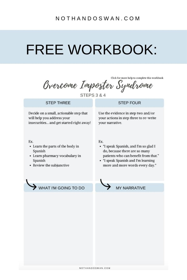 How to Overcome Imposter Syndrome in 4 Steps